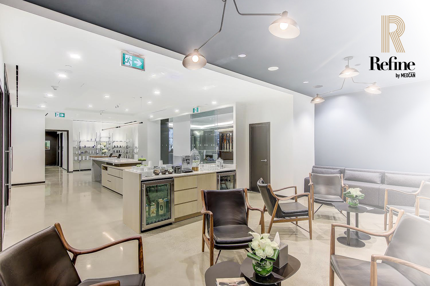 Refine clinic space at 150 York Street in Toronto.