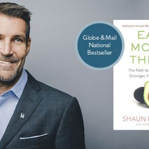 "Shaun Francis' Best Seller - ""Eat Move Think"""
