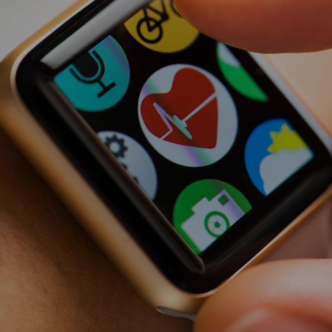 Health technology in the form of a smart watch