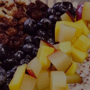 Miscellaneous diced fruit
